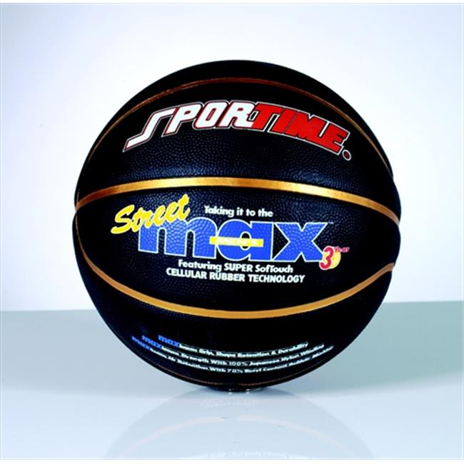 Sportime 024732 Womens 28.5 In. StreetMax Basketball, Black
