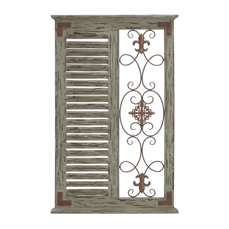 Classic Pine Wood Metal Wall Panel With Parallel Slats Of (Classic 21 Metal)