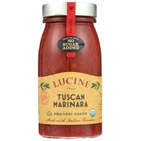 Lucini Italia Pasta Sauce Tuscan Marinara, 25.5 Fl Oz
