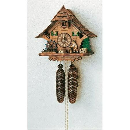 Cuckoo Clock 1 Day Chalet - Schneider Forest Chalet  Wall Clock