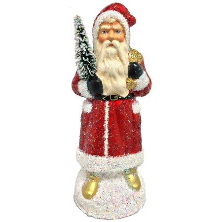 Ino Schaller Halloween (Ino Schaller St. Nicks Golden Boots German Christmas Paper Mache Candy)