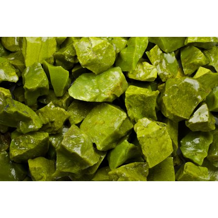 Fantasia Crystal Vault: 1/2 lb Green Opal Rough Stones from Madagascar - Large 1