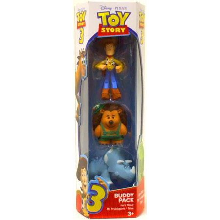 Toy Story 3 Trixie, Hero Woody & Mr. Pricklepants Mini ...