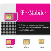 T-Mobile Triple Cut Sim Card