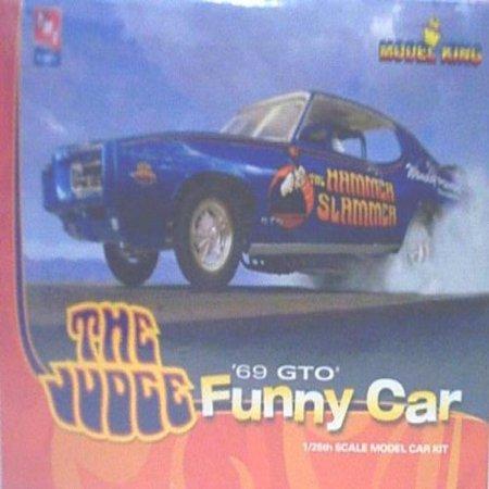 1969 Pontiac Gto Judge Funny Car Flip By Model King