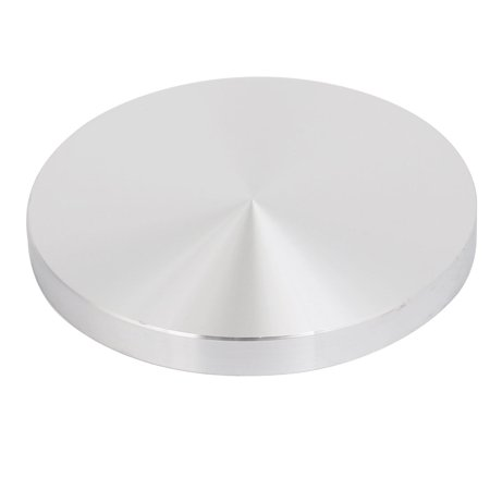 4pcs 95mm Dia 10mm Thickness M10 Thread Hollow Aluminum Disc Polished Finish - image 1 of 3