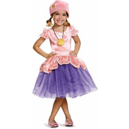Captain Jake and the Neverland Pirates Izzy Tutu Deluxe Toddler Halloween Costume - Jake The Pirate Costume