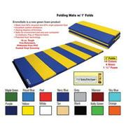 Folding Mat w/ 1' Folds - 4' x 6' x 1. 5''