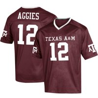 Youth Russell Athletic Maroon Texas A&M Aggies Replica Football Jersey