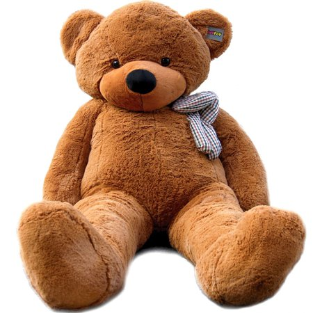 Joyfay Giant Teddy Bear in Dark Brown- 6ft Stuffed Bear, Great fo Christmas, Easter, Valentines Day, and - Giant Eraser