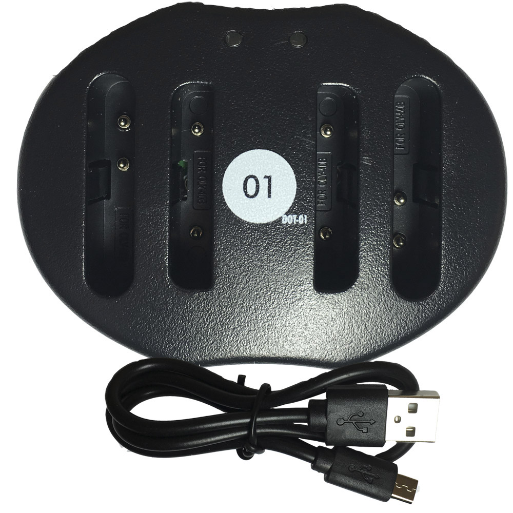 DOT-01 Replacement Dual Slot USB Charger for Kodak KLIC-7006 and Kodak M522 Digital Camera and Kodak KLIC7006