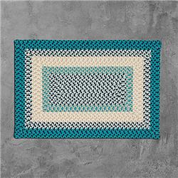 Colonial Mills MG99R120X120R 10 x 10 ft.  Montego Square Braided Rug, Oceanic