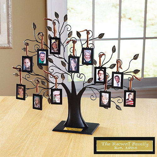 Personalized Oversized Metal Family Tree Sculpture Walmartcom