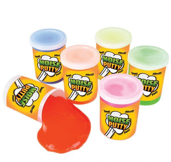 "3"" LARGE NOISE PUTTY, Case of 144"