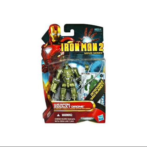 Iron Man Movie Series Weapon Assault Drone Action Figure