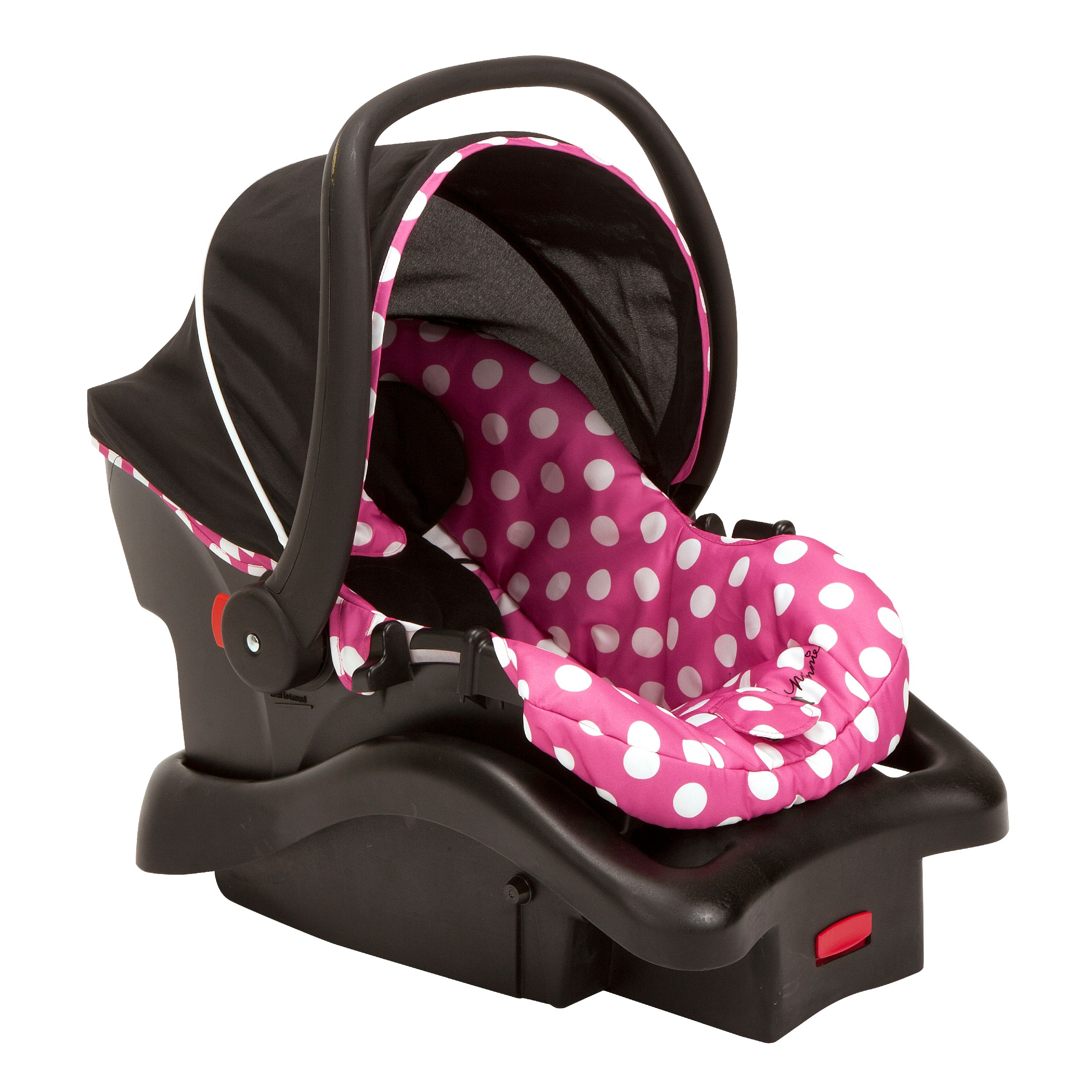 Disney Baby Light N Comfy 22 Luxe Infant Car Seat Minnie Dot
