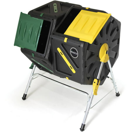 Miracle-Gro 37 Gal. Dual Chamber Tumbling Composter ()