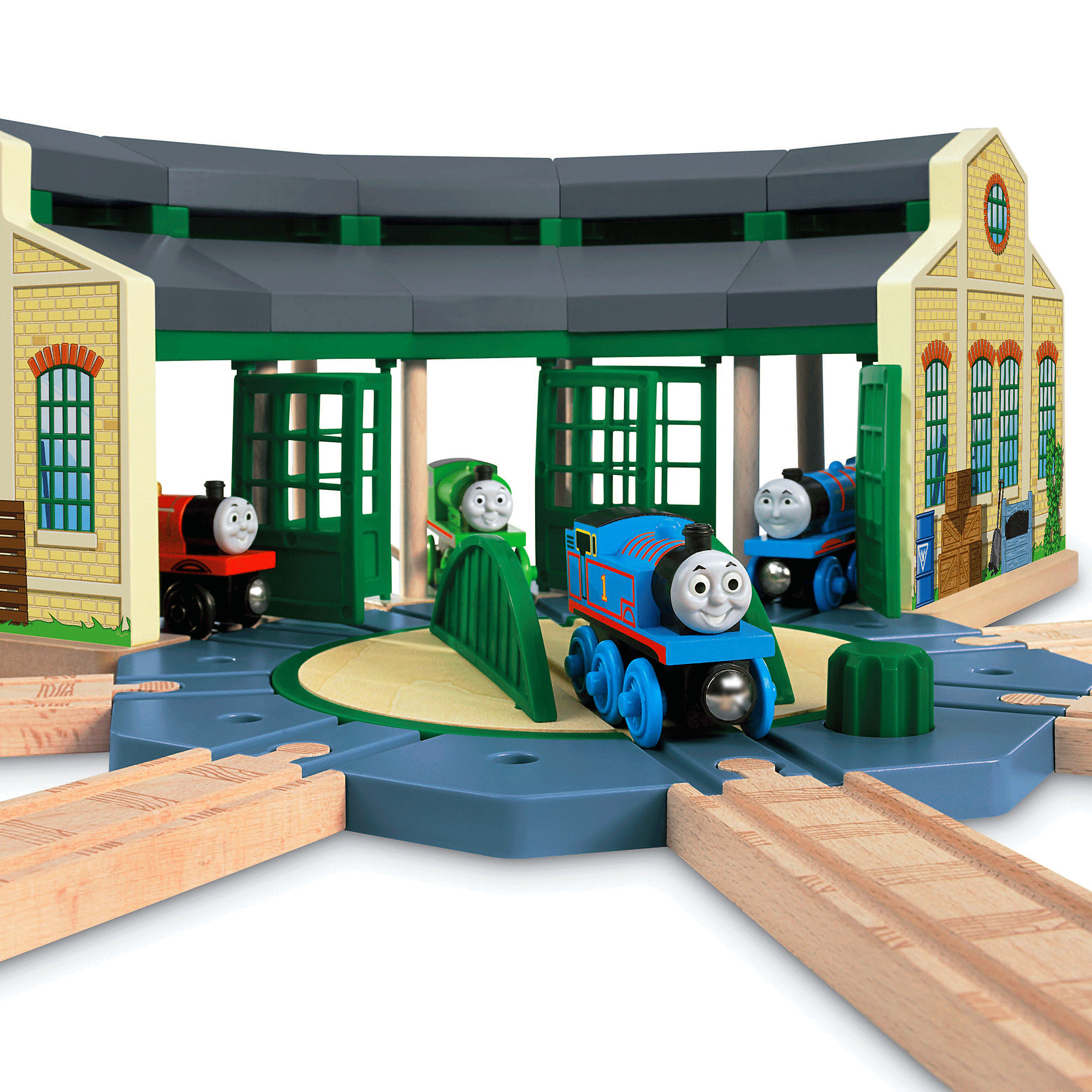 Thomas & Friends Wooden Railway Tidmouth Sheds by FISHER PRICE