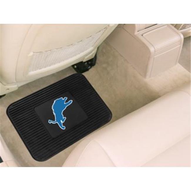 Detroit Lions Car Mat Heavy Duty Vinyl Rear Seat