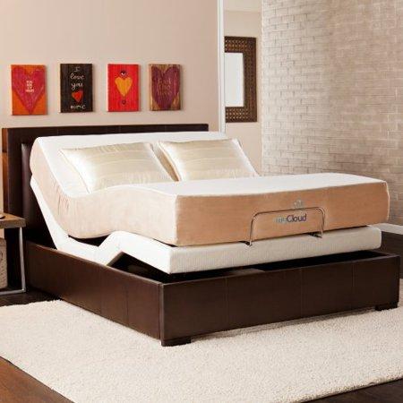 Mycloud Adjustable Bed With 10 Queen Mattress
