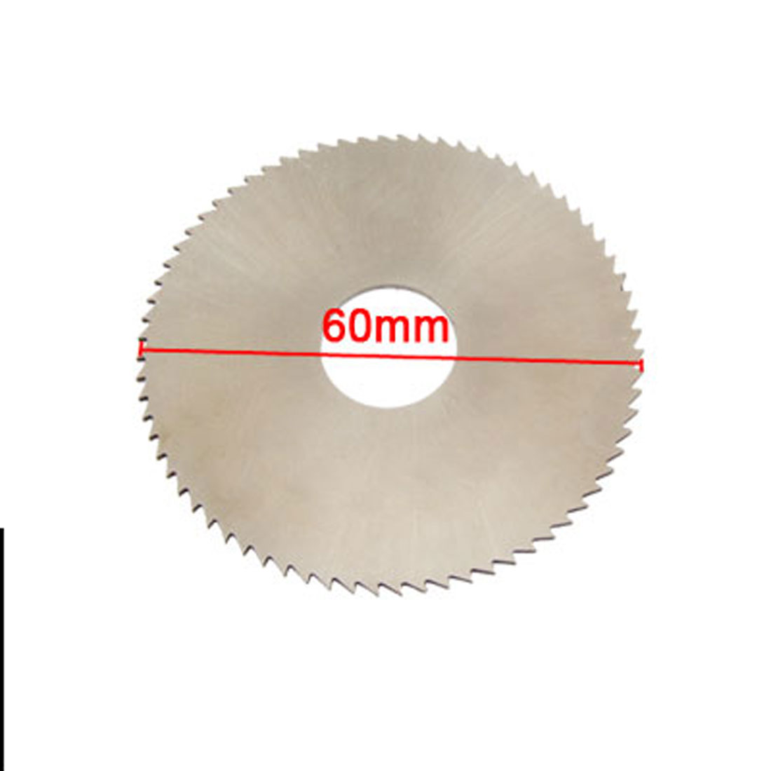 Unique Bargains 72T 60mm OD 1mm Thick HSS Circular Slitting Saw Gray - image 1 of 1