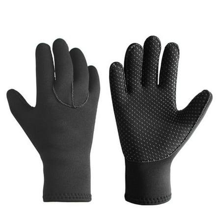 YLSHRF Neoprene Gloves,SLINX 3mm Neoprene Scuba Diving Snorkeling Gloves Anti-slip Warmer Water Sport Equipment, Scuba Diving Gloves Water Sport Equipment