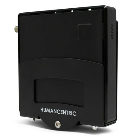 HumanCentric Adjustable Small Device Wall Mount | DVD Players, Cable Boxes, Streaming Media Devices | Patent Pending