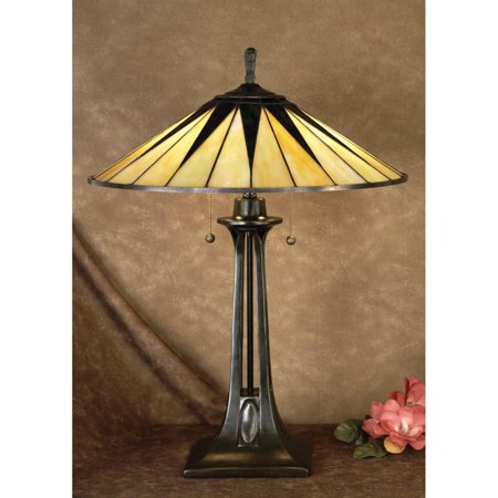 Quoizel Gotham TF6668VB Tiffany Lamp