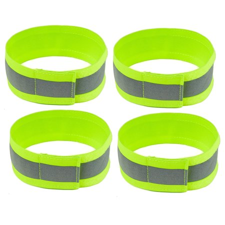 RK High Visibility Reflective Bands - Green / Pack of 4