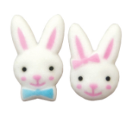 24pk Bunny Boy and Girl 1 1/8