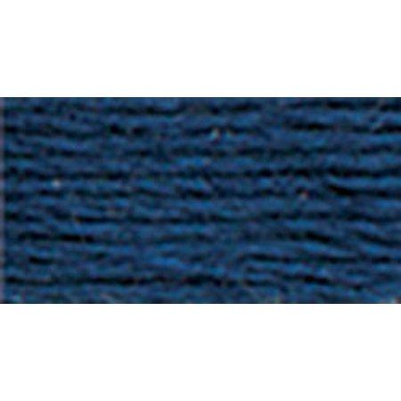DMC Pearl Cotton Skein Size 5 27.3yd-Navy Blue (Anchor Pearl Cotton)