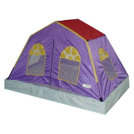 GigaTent 76 x 53 Bed Tent 6 Mesh Windows Fiberglass Poles Washable Sheets