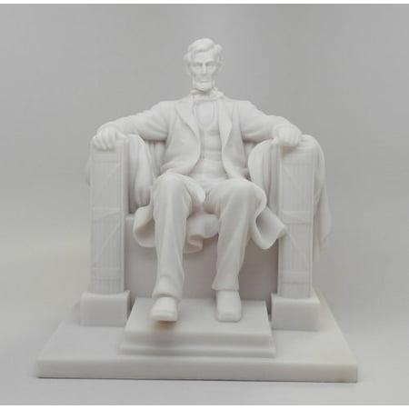 8.25 Inch Abraham Lincoln National Memorial Replica Figurine ()