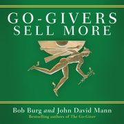Go-Givers Sell More - Audiobook