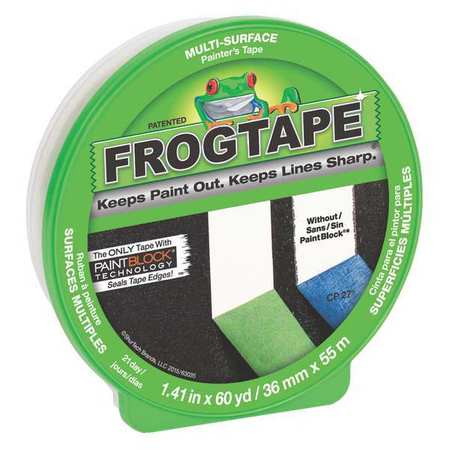 SHURTAPE Masking Tape,Paper,Green,36mm CF 120