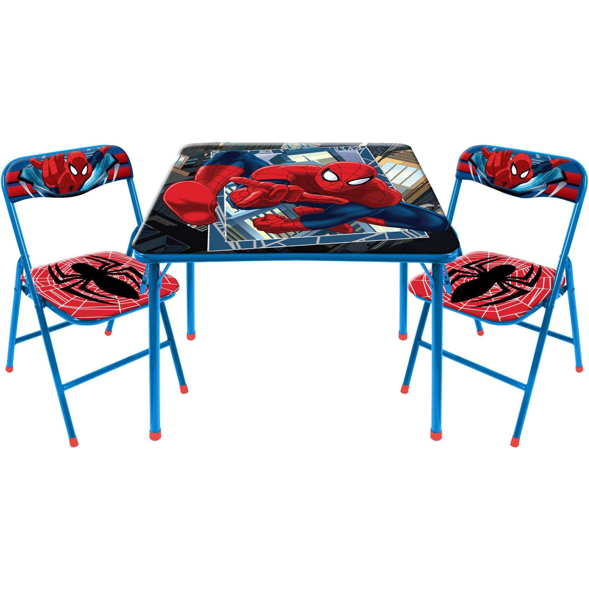 2017 05 kid chairs target - Marvel Spider Man 3 Piece Square Table And Chair Set