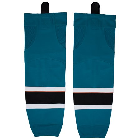Firstar San Jose Gamewear Hockey Socks (Teal) (San Jose Sharks Hockey Socks)