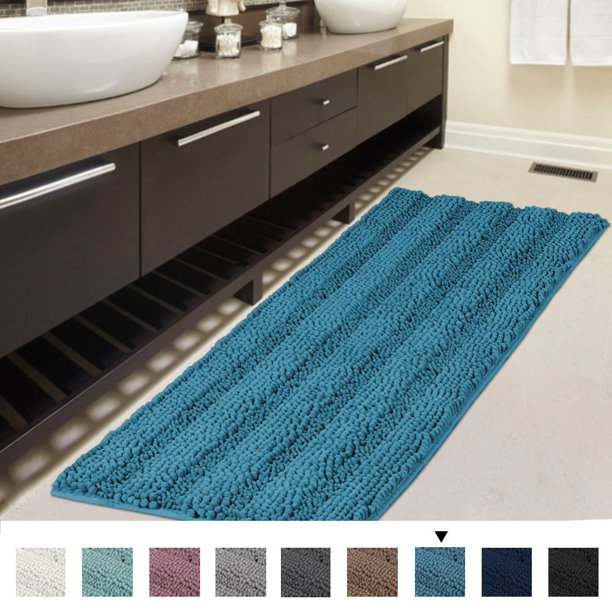 Striped Bath Mat Runner Original
