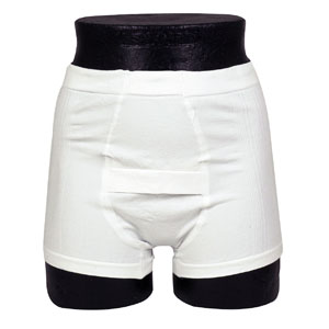 "Abri Fix Man Protective Underwear, Small 28"" - 33"" - 1 Unit"