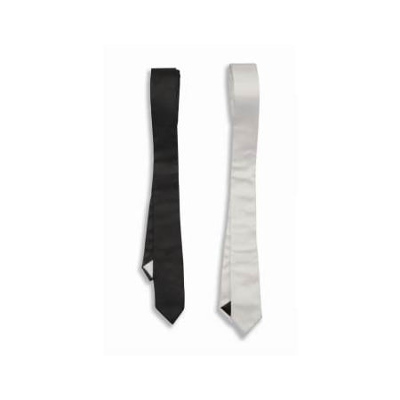 50'S SKINNY TIE-WHITE - 50's Style Home Decor