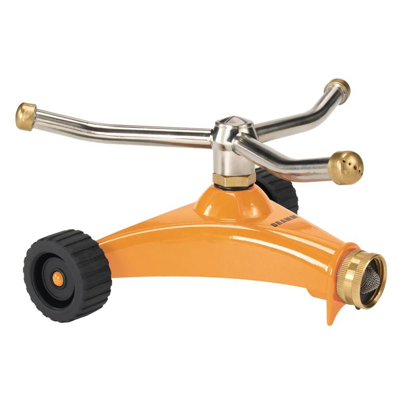 Dramm 10-15052 Orange ColorStorm��� 3 Arm Whirling Sprinkler
