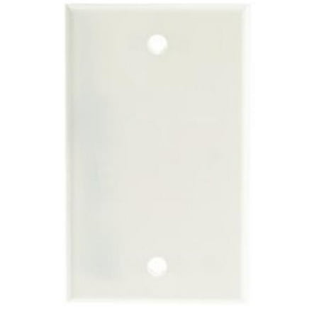 Wall Plate, Blank Cover Plate - White - image 1 of 1
