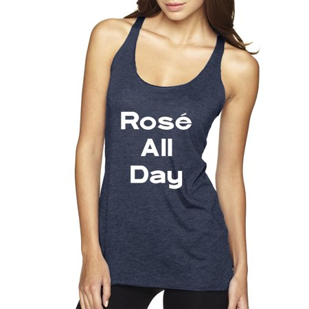 New Way 384 - Women's Tank-Top Ros All Day Erryday Spring Hashtag Parody