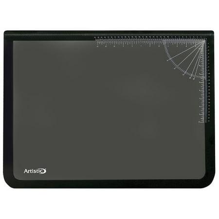 (Rebrilliant Echols Logo Pad Lift-top Desktop Organizer Desk Mat)