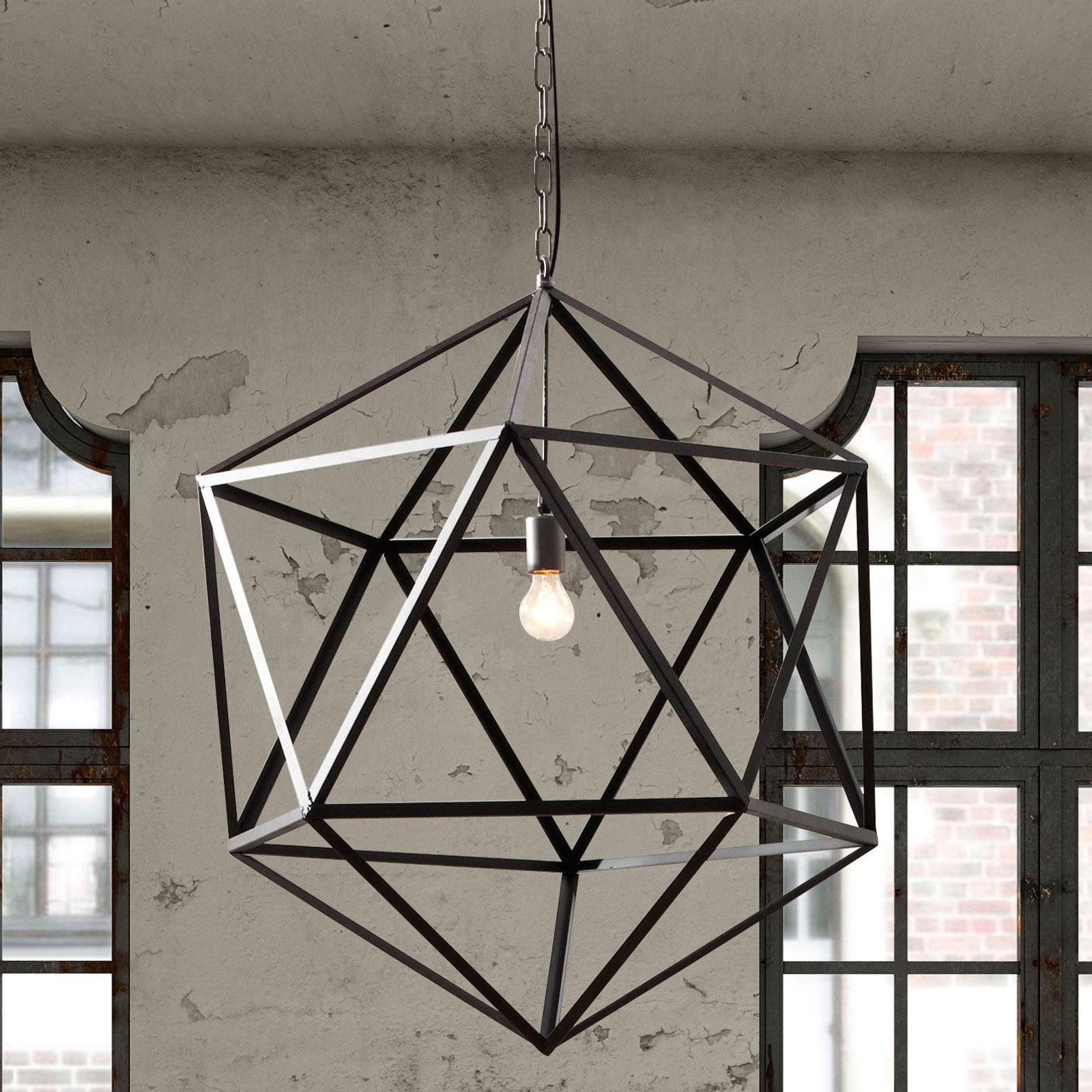 Zuo Modern Amethyst Ceiling Lamp