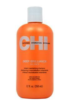 Deep Brilliance Instant Neutralizing Shampoo CHI 12 oz Shampoo Unisex