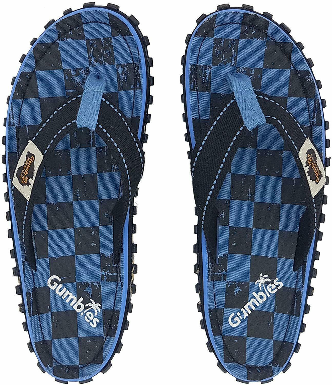 Flip-Flops - Blue Checker | Walmart