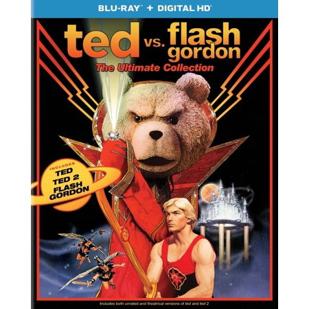 Ultimate Seal (Ted Vs. Flash Gordon: The Ultimate Collection, BRH, 2017, Sealed)