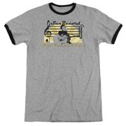 Sun Records Sun Records Record Company Mens Adult Heather Ringer Shirt