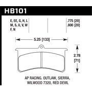Hawk Performance HB101V.800 Disc Brake Pad